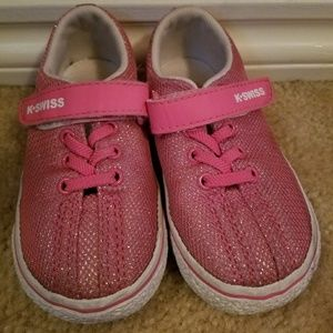 kswiss Shoes - Size 6 Kswiss pink and white shoes